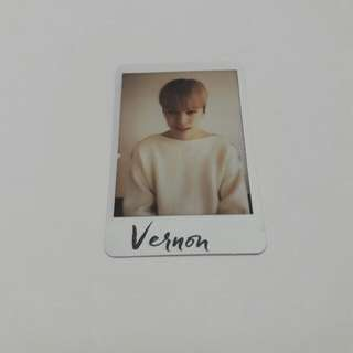 Seventeen Al1 Photocard (Vernon Al1 Ver.)