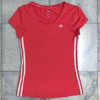 Pink Adidas Lycra Top