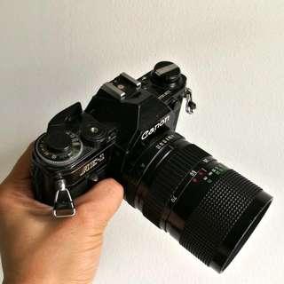 Canon AE-1 Black FD 35-70mm F4