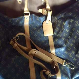 Louis vuitton Keepall 55 With Strap Auth