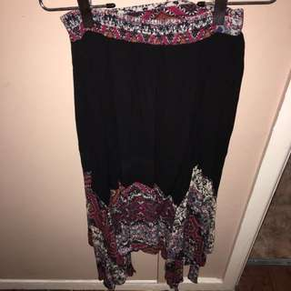 Mullet Style Mexican Skirt