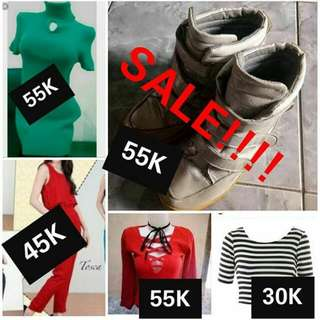 Sale!! Jumpsuit Sneakers Crop Top
