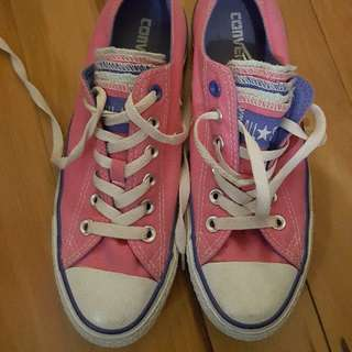 Pink All Stars Size 6