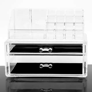 Acrylic Make Up organizer with drawer