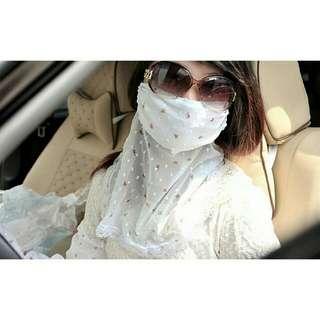 Masker + Scraft Untuk Naik Motor / Beraktifitas diluar Rumah