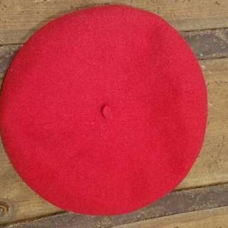 Classic Red French Beret