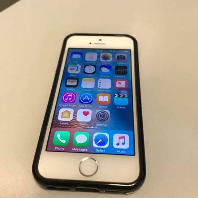 16GB Silver iPhone SE Globe-locked