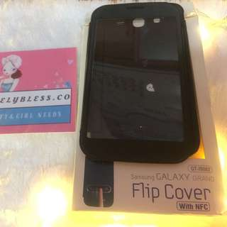 FLIP COVER TRANSPARAN SAMSUNG GRAND