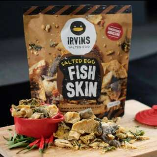 Irvins Fish Skin (105G-Small Pouch)