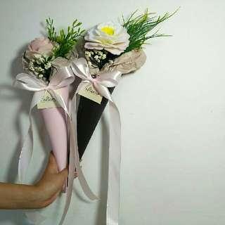 Bunga Flanel Single Flower