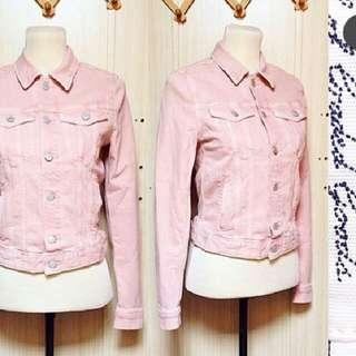 H&M Denim Jacket (Blush Pink)