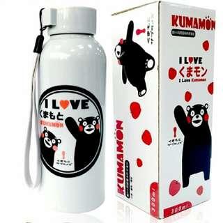 🚚 KUMAMON雙層隔熱玻璃瓶