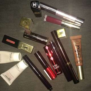Make Up Chanel YSL Tom Ford Hourglass Urban Decay By Terry