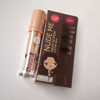 Cathy Doll Nude Me Liquid Lipstick