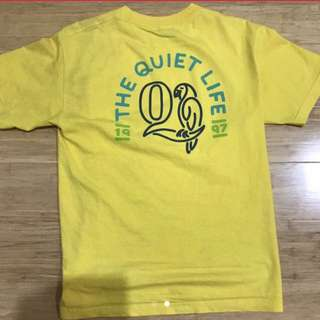 YELLOW QUIETLIFE T-SHIRT