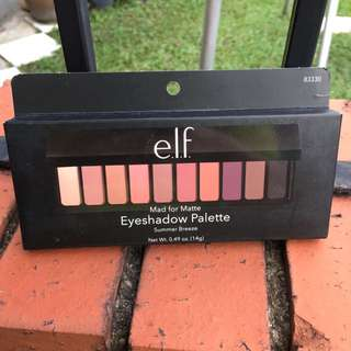 [READY STOCK] Elf Mad For Matte 2 Palette
