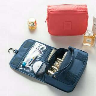 Travel Toiletries Organizer Bag (with hook)