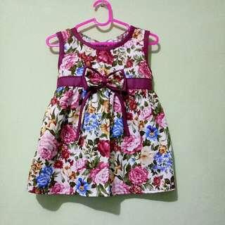 Floral Dress Baby Print