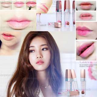 Pink Transparent Style Lip Gloss Korea Trend's Gradient Lip Highly Hot SALES