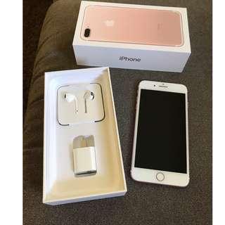Apple iPhone 7 Plus - 128GB - Rose Gold Unlocked