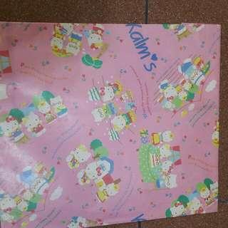 Sanrio Kalm's Hello Kitty 纸袋中古