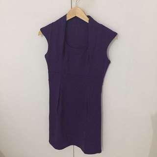 Midi Dress Purple