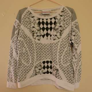 Baggy MLM graphic pullover