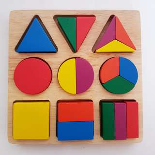 Fractions Puzzle Board