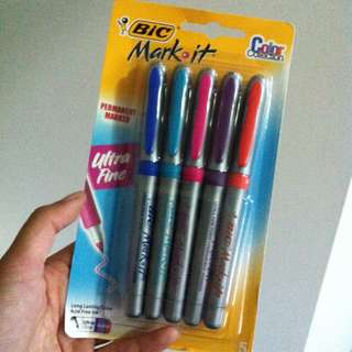 Bic Mark It Permanent Markers