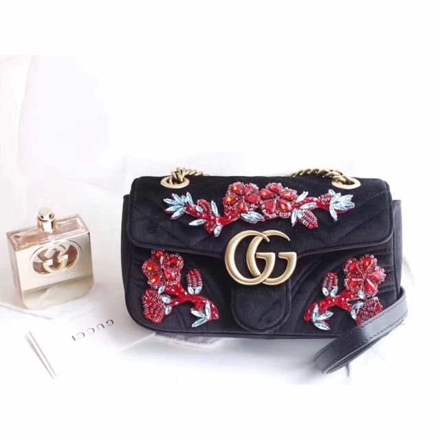 2017 Gucci Velvet Bag