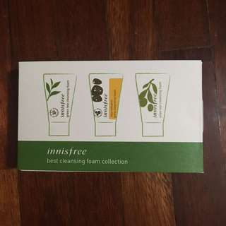 Innisfree Best Cleansing Foam Collection