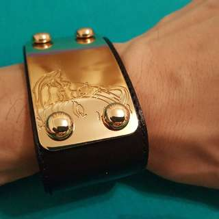 Versace Bracelet Leather
