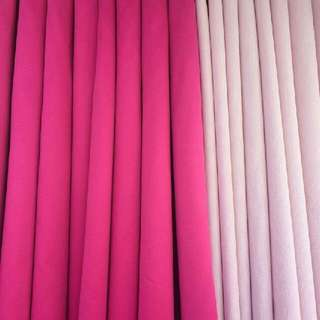 Fuschia Pink And Light Pink Curtain