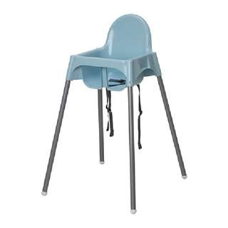 Ikea Antilop Highchair Blue