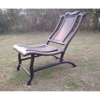 Antique Chinese 'Moon Gazing' Chair