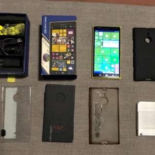 Nokia Lumia 1520 (Yellow, 32GB, Unlocked) + Wireless Charging Stand