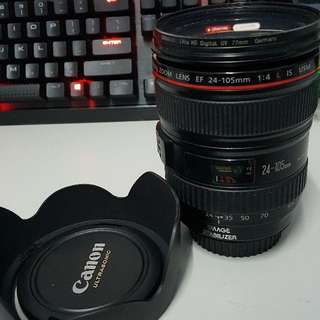Mint Canon EF 24-105MM F4L IS USM