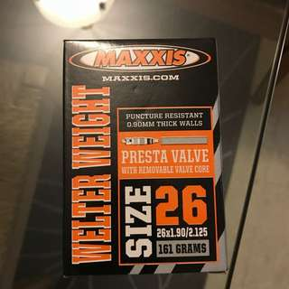26 Maxxis Tyre Tubes