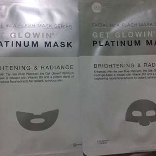 Skin Inc Get Glowin' Platinum Mask