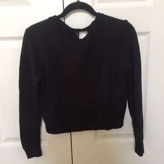 H&M Cropped Knit Sweater