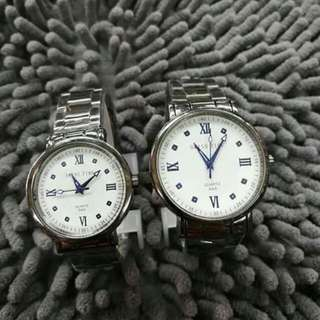 SWISS TIME COUPLE WATCH