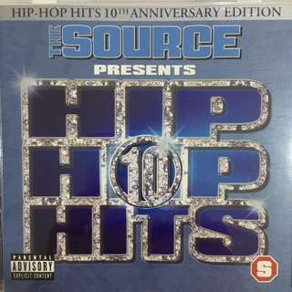 The Source Presents Hip Hop Hits 10 - Audio CD