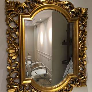 Gothic Mirror Frame For Sale