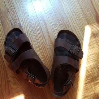 Birkenstock Sandals, Sz 38