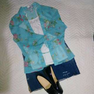 OLD NAVY Sheer Kimono Type Top Only