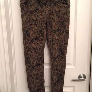 Zara Patterned Jeans