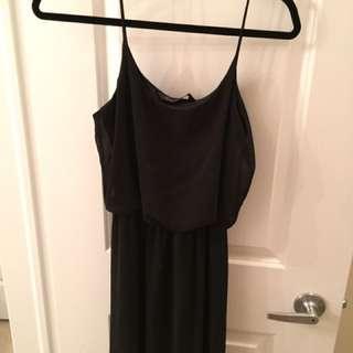 Black Maxi Dress From M