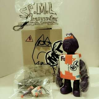 "Michael Lau Gardener CC32 SFML S.F.M.L 6"" Vinyl Figure 2014 Toysoul Edition (罕有簽名珍藏品)"