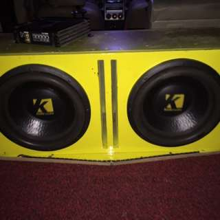 Kole Audio 12inch Competition Sub Woofer