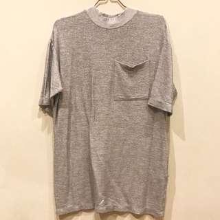 Zara Long Glitter T Shirt Dress